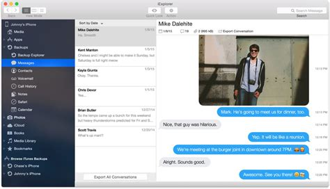 Save iPhone Text Messages on your Mac or PC Computer