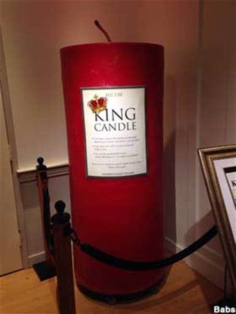 South Deerfield, MA - World's Largest Candle in World's