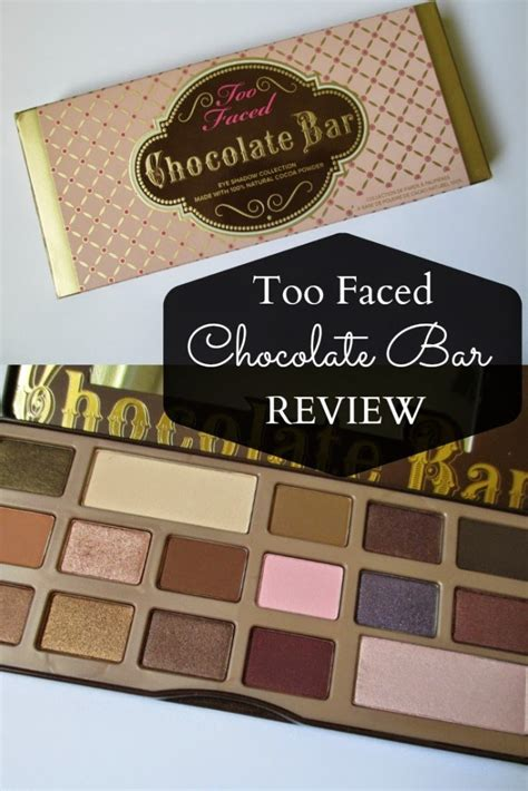 Too Faced Chocolate Bar Palette - Worth the Hype? - Review