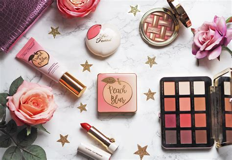 My Peachy Picks from Too Faced Cosmetics
