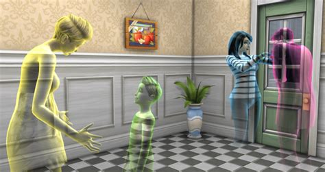 The Sims 4 Ghosts | SimsVIP