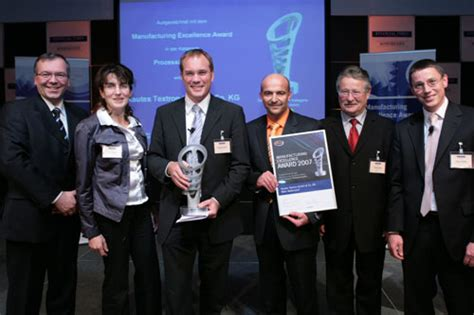 MX Award 2007 - Manufacturing Excellence