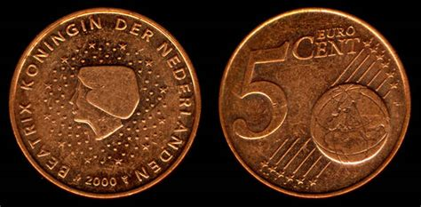 Netherlands 5 Euro Cent 2000 - My Coin Pictures