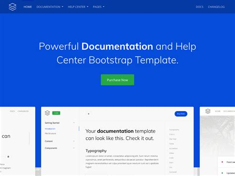 Guidebook – Online Documentation Template - Bootstrap Themes