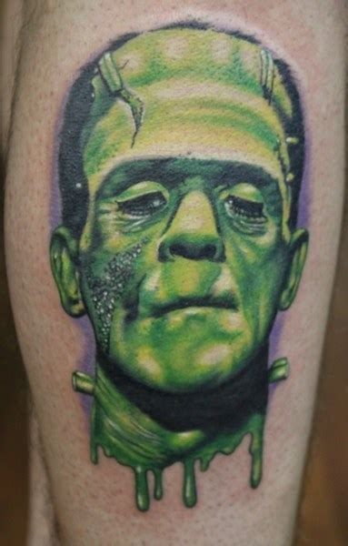 Frankenstein Tattoos Designs, Ideas and Meaning | Tattoos