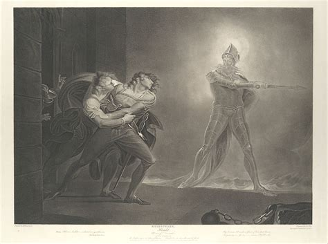 Robert Thew | Hamlet, Horatio, Marcellus and the Ghost