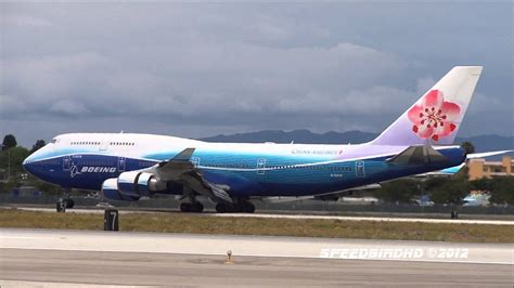 China Airlines 'Boeing House Colors' Boeing 747-409 [B