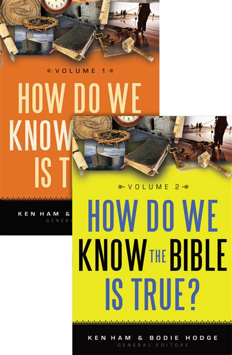 How Do We Know the Bible Is True? Volumes 1 & 2 (Softcover