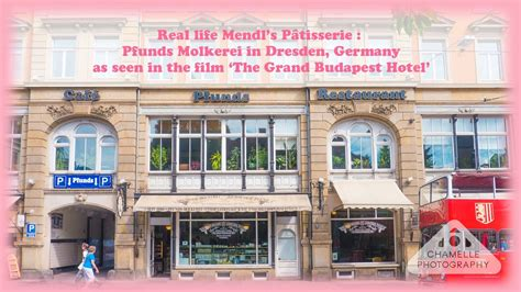 Real life Mendl's Patisserie Pfunds Molkerei, Dresden