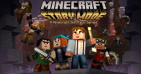 27 Story Mode Skins Added to Minecraft, Free for First