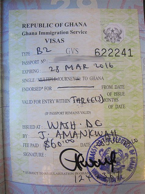 UK – Ghana Visa application and the Scam involved