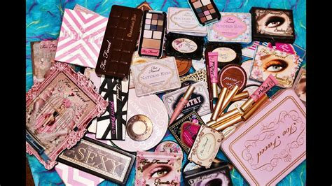 Too Faced Makeup Collection 2014 - YouTube