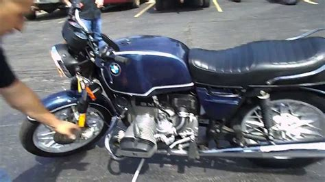 1980 BMW R80 Cold Start and Riding Clip - YouTube