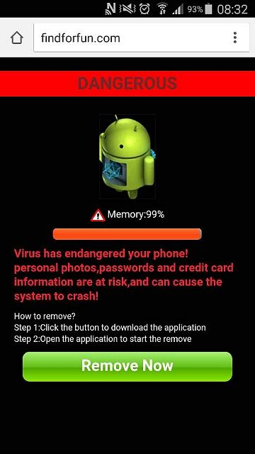 I have a virus on my s5 it is affecting me Web browser and