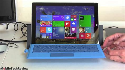 Microsoft Surface Pro 3 Docking Station Review - YouTube