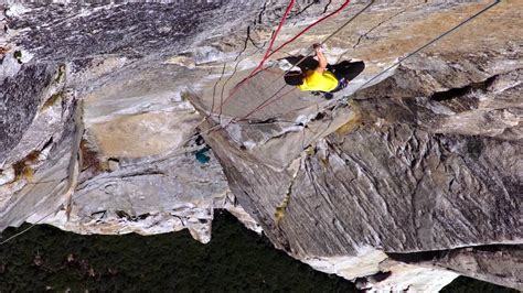 This Clip From Rock-Climbing Doc 'Free Solo' Is Scarier