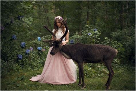 Dreamy And Majestic Beauty Of Girls Photographed With Real